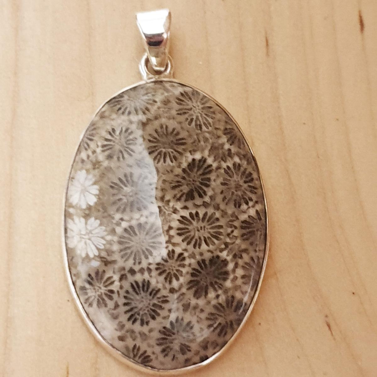 Fossil-Coral-Pendant-Natural-Milefiori-72-1